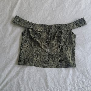 Free People Green Size Large Top